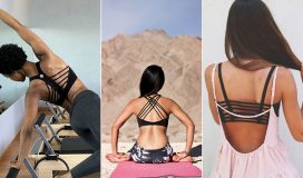 The best strappy sports bras!